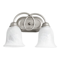 Quorum International Maris 2 Light Vanity Light in Classic Nickel 5227-2-64