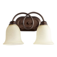 Quorum International Maris 2 Light Vanity Light in Oiled Bronze 5227-2-86