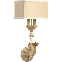 Florence 2 Light 11 inch Persian White Wall Sconce Wall Light