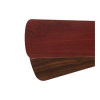 Signature Rosewood and Walnut 52 inch Set of 5 Fan Blades