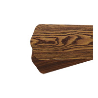Quorum 5255624164 Fort Worth 52 inch Set of 5 Fan Blades in Dark Oak and Walnut