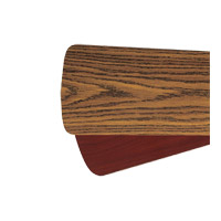 Quorum 5255655121 Signature Dark Oak and Rosewood 52 inch Set of 5 Fan Blade
