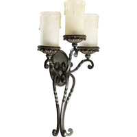 Quorum 5286-3-86 Alameda 3 Light 16 inch Oiled Bronze Wall Sconce Wall Light