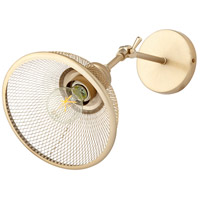 Quorum 5312-80 Omni 11 inch 100 watt Aged Brass Swing Arm Wall Sconce Wall Light, Small alternative photo thumbnail