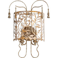 Quorum 5355-2-61 Leduc 2 Light 14 inch Florentine Gold Wall Mount Wall Light