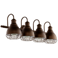 Quorum 5363-4-86 Arbor 4 Light 29 inch Oiled Bronze Vanity Light Wall Light