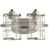 Ellis 2 Light 14 inch Satin Nickel Vanity Light Wall Light