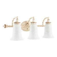 Alameda 3 Light 28 inch Persian White Bath Light Wall Light