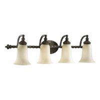 Alameda 4 Light 36 inch Oiled Bronze Vanity Light Wall Light