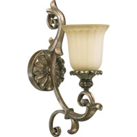 Quorum 5400-1-58 Barcelona 1 Light 6 inch Mystic Silver Wall Sconce Wall Light