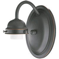 Quorum International Signature 1 Light Wall Sconce in Old World 5403-1-095