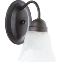 Quorum International Signature 1 Light Wall Sconce in Toasted Sienna 5403-1-44
