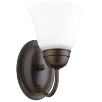 Quorum 5404-1-86 Signature 1 Light 5 inch Oiled Bronze Wall Sconce Wall Light