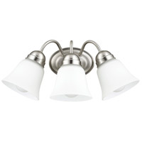 Signature 3 Light 17 inch Satin Nickel Wall Sconce Wall Light