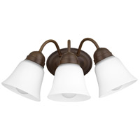Quorum 5404-3-86 Signature 3 Light 17 inch Oiled Bronze Wall Sconce Wall Light