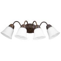 Quorum 5404-4-86 Signature 4 Light 24 inch Oiled Bronze Wall Sconce Wall Light