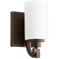 Quorum 5407-1-86 Lancaster 1 Light 5 inch Oiled Bronze Wall Sconce Wall Light