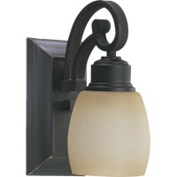 Quorum International Signature 1 Light Wall Sconce in Old World 5411-1-95