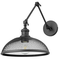 Omni 24 inch 100 watt Noir Swing Arm Wall Sconce Wall Light, Large