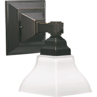 Quorum 5420-1-95 Craftsman 1 Light 6 inch Old World Wall Sconce Wall Light