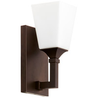Quorum 5423-1-86 Wright 1 Light 5 inch Oiled Bronze Wall Sconce Wall Light