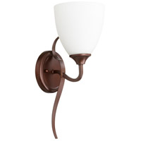 Quorum 5427-1-86 Jardin 1 Light 6 inch Oiled Bronze Wall Sconce Wall Light