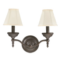 Quorum International Ashton 2 Light Wall Sconce in Toasted Sienna 5436-2-44