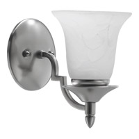 Coventry 1 Light 5 inch Satin Nickel Wall Sconce Wall Light