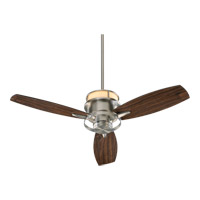 Bristol 54 inch Satin Nickel with Maple Blades Ceiling Fan