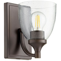 Quorum 5459-1-286 Enclave 1 Light 6 inch Oiled Bronze Wall Sconce Wall Light