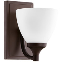 Quorum 5459-1-86 Enclave 1 Light 6 inch Oiled Bronze Wall Sconce Wall Light