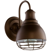 Quorum 5463-1-86 Arbor 1 Light 6 inch Oiled Bronze Wall Sconce Wall Light
