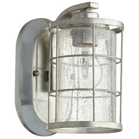 Ellis 1 Light 5 inch Tumbled Steel Wall Sconce Wall Light