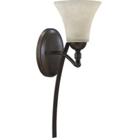 Quorum 5477-1-86 Aspen 1 Light 6 inch Oiled Bronze Wall Sconce Wall Light