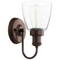 Quorum 548-1-86 Signature 1 Light 6 inch Oiled Bronze Wall Sconce Wall Light