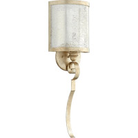 Quorum 5481-1-60 Champlain 1 Light 9 inch Aged Silver Leaf Wall Sconce Wall Light