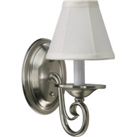 Armonia 1 Light 5 inch Satin Nickel Wall Sconce Wall Light