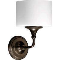Quorum 5490-1-86 Rockwood 1 Light 7 inch Oiled Bronze Wall Sconce Wall Light