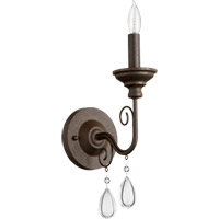 Vesta 1 Light 5 inch Oiled Bronze Wall Sconce Wall Light
