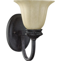 Quorum International Hathaway 1 Light Wall Sconce in Toasted Sienna 5505-1-44