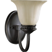 Quorum International Hathaway 1 Light Wall Sconce in Old World 5505-1-95