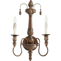 Salento 2 Light 12 inch Vintage Copper Wall Mount Wall Light