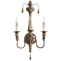 Quorum 5506-3-39 Salento 3 Light 14 inch Vintage Copper Wall Mount Wall Light