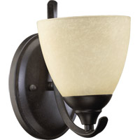 Powell 1 Light 6 inch Toasted Sienna Wall Sconce Wall Light