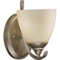Powell 1 Light 6 inch Mystic Silver Wall Sconce Wall Light