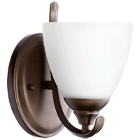 Quorum 5508-1-86 Powell 1 Light 6 inch Oiled Bronze Wall Sconce Wall Light