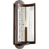 Ventana 1 Light 7 inch Oiled Bronze Wall Mount Wall Light