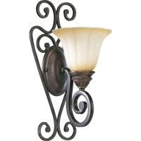 Quorum 5526-1-44 Summerset 1 Light 8 inch Toasted Sienna Wall Sconce Wall Light