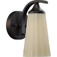 Quorum International Winslet 1 Light Wall Sconce in Oiled Bronze 5529-1-86
