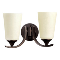 Quorum 5529-2-186 Winslet II 2 Light 13 inch Oiled Bronze Wall Sconce Wall Light